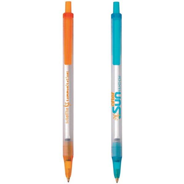 BIC Clic Stic Clear Colors